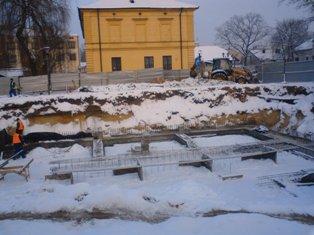 Budowa obecnej siedziby 1