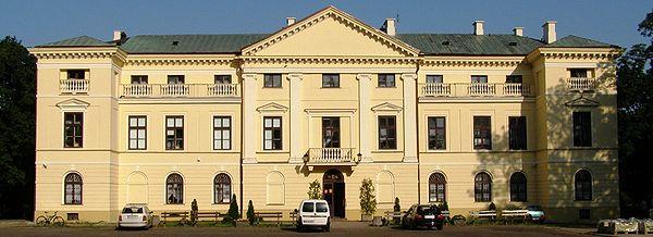 Jedna z dawnych siedzib Biblioteki Pałac Dernałowiczów