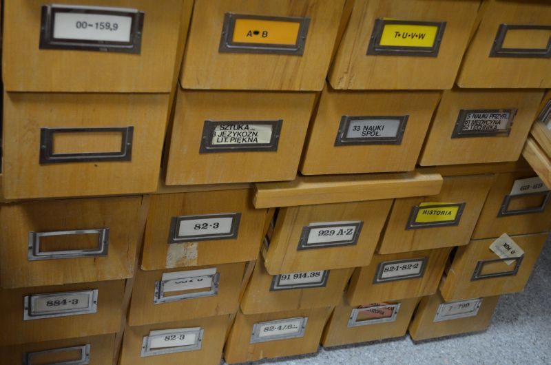 Skrzynki katalogowe