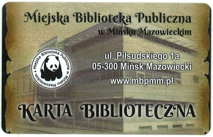 karta biblioteczna