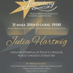 Plakat Aleja Gwiazd Literatury