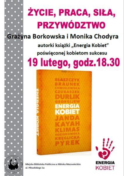 Plakat Energia kobiet 1