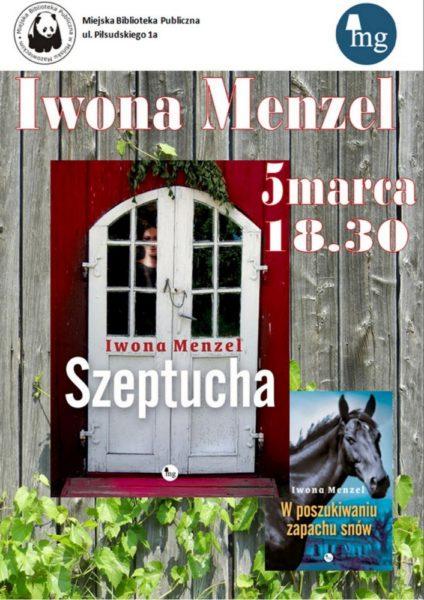 Spotkanie z Iwona Menzel