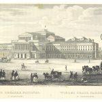 CHODZKO1839 p349 GRAND THEATRE NATIONAL A WARSOVIE