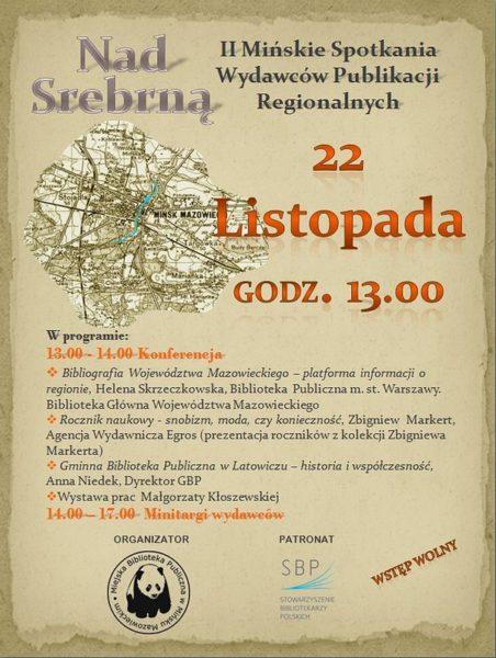 plakat Nad Srebrną 2014