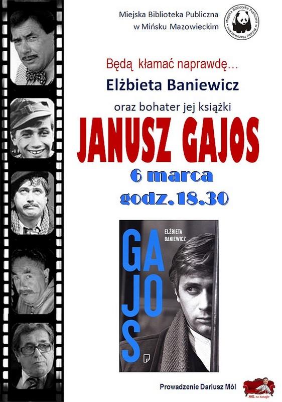 plakat Gajos