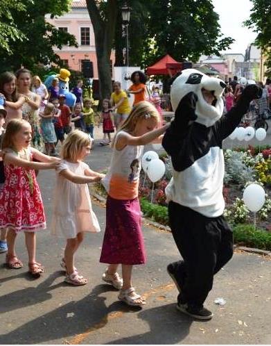 Panda na pikniku 2