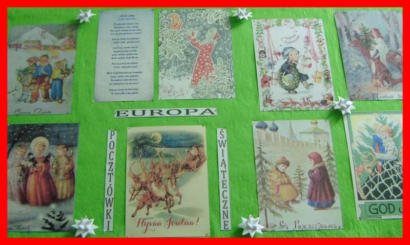 pocztówki świąteczne Europa