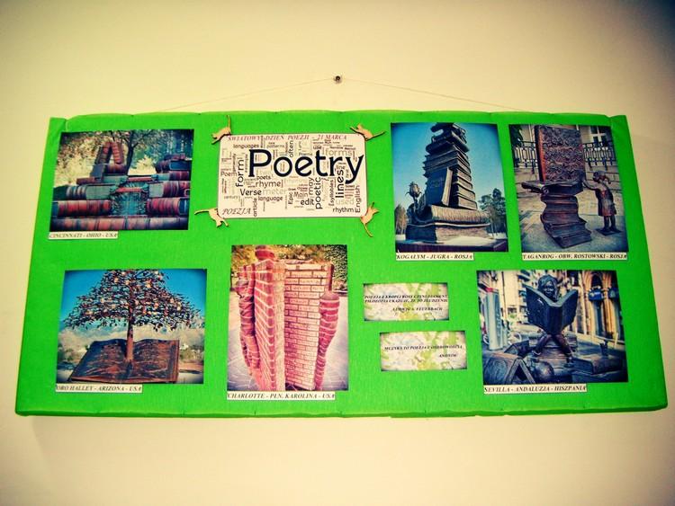Światowy Dzień Poezji pomniki książki